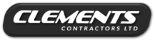 Clements Contractors business logo-customers of commercial electricians-McMillan Electrical Whangarei